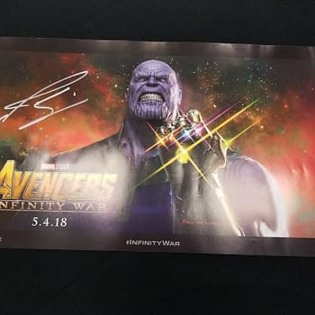 Thanos Is Not Looking Happy On D23 Poster Which I Need To Get Now