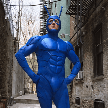 Talking With Griffin Newman And Brendan Hines Of The Tick