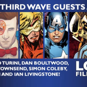 Rich Johnston At The London Film And Comic Con Tomorrow, Table 38