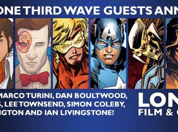 Rich Johnston At The London Film And Comic Con Tomorrow Table 38