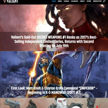 Valiant Reboots Website, Offers Free #1 Issues As Jumping-On Points