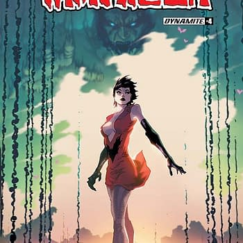 Writers Commentary &#8211 Paul Cornell Talks Vampirella #4