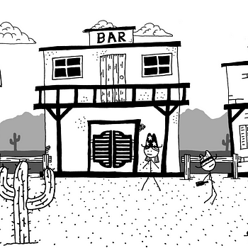 Stick Figure Comedy RPG West Of Loathing Gets A Trailer