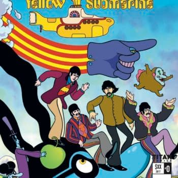 Titan Publish Exclusive 'The Beatles: Yellow Submarine' Ashcan At San Diego Comic-Con
