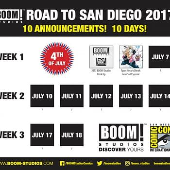 BOOM Studios Continue Road To SDCC Announcements With Diesel: Gear Shift Special