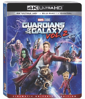 Guardians Of The Galaxy Vol 2 Home Release Date And Bonus Material