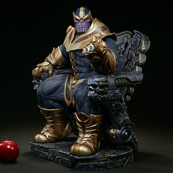 You Could Win This Awesome Thanos Maquette From Sideshow Collectibles
