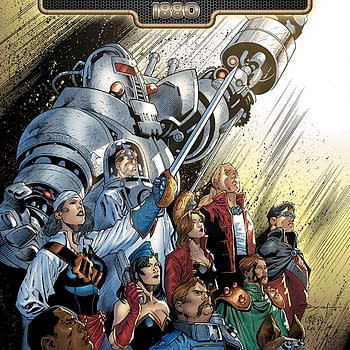 Free On Bleeding Cool &#8211 Battlestar Galactica 1880 #2 By Lee And Aneke