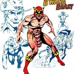 The Comic Book History Of B'wana Beast