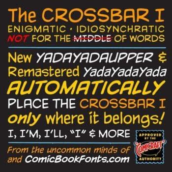 comic lettering