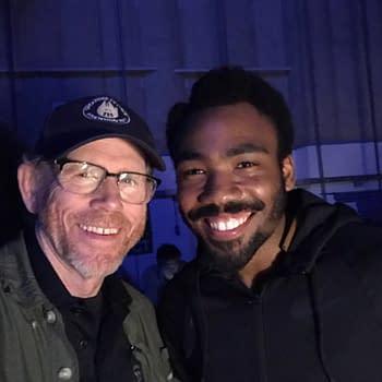 Ron Howard Says Goodbye To Mustachioed Donald Glover On #UntitledHanSoloMovie