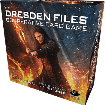 Game Night &#8211 Playing The Dresden Files Cooperative Card Game