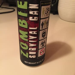 Nerd Food: Zombie Survival Can Energy Drink