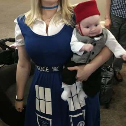geeky cosplay
