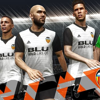 Valencia CF Is The Latest Club To Partner With Pro Evolution Soccer 2018