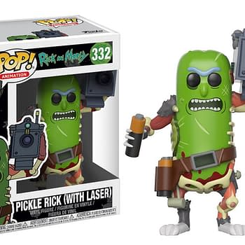 Pickle Rick Funko Pops Are Coming In December Just In Time For Christmas