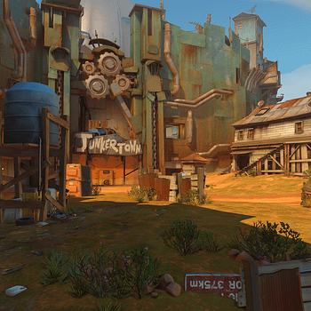 Overwatch Debuts A Pair Of Videos With New Junkertown Map