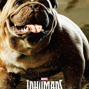 Marvel Released Lockjaw Poster For National Dog Day