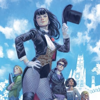 Alisa Kwitney And Mike Norton Take Zatanna To College In Mystik U From DC In November