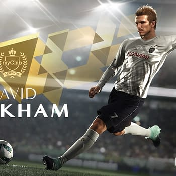 Konami Has Signed An Exclusive Deal With David Beckham For PES 2018