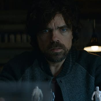 Peter Dinklage And The Late Anton Yelchin In Rememory
