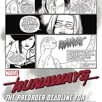 Marvels Runaways Teach You How To Preorder Comics Your Sacred Responsibility As A Comic Book Reader