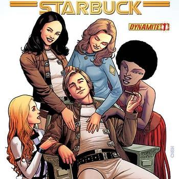 Free On Bleeding Cool &#8211 Battlestar Galactica: Starbuck #1 By Lee And Casallos