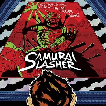 Samurai Slasher Returns With Special Limited Edition Orbital Comics Launch