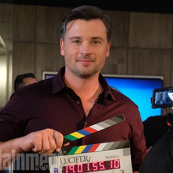 Lucifer Season 3: First Look At Tom Welling On Set