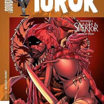 Writers Commentary &#8211 Chuck Wendig On Turok #1