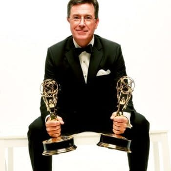 Stephen Colbert: Keeping Emmy Envelopes Safe One Tux At A Time