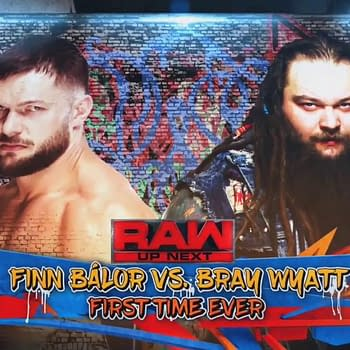 For The First Time Finn Balor And Bray Wyatt Wrestle A Real Match