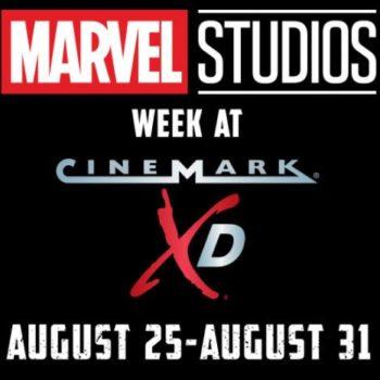 Marvel Studios Week: Cinemark XD Offers 11 Films For $5 Each