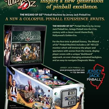 Theres No Place Like Home: The Wizard Of Oz Pinball By Jersey Jack
