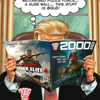 Donald Trumps Policies Are Now An Ad For 2000 AD Comics