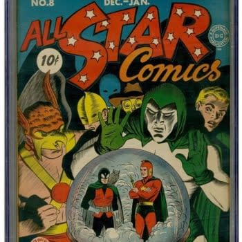 All Star Comics #8 CGC 9.4 First Wonder Woman Sells For Record $936,223.00