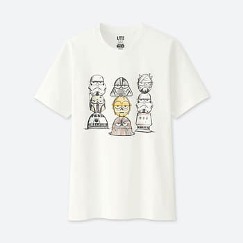 Jason Polan And James Jarvis' Exclusive Uniqlo Shirts For New York Comic Con 2017