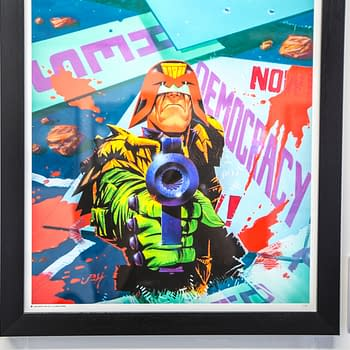 Zarjaz!An Art Tribute To 40 Years Of 2000 AD, Now In Leeds For Thought Bubble