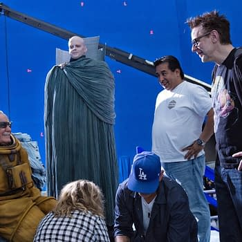 James Gunn Shares Another Behind-The-Scenes Photo From Guardians 2