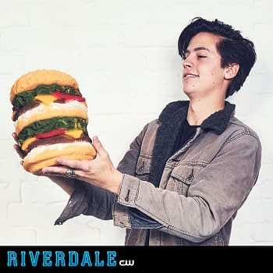 Happy National Cheeseburger Day, Jughead Jones