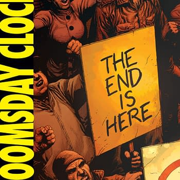 Doomsday Clock #1 Review: A Strong Gorgeous Piece Of Set-Dressing To Start