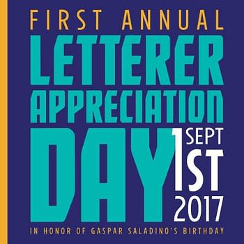 Its The First Annual Letterer Appreciation Day