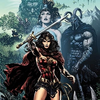 How Jim Lee And Red Sonja Helped Liam Sharp Draw Wonder Woman Comics