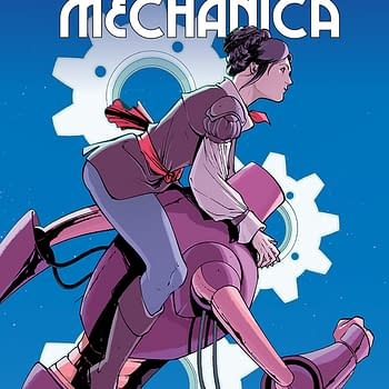 AfterShock Announces Monstro Mechanica By Paul Allor And Chris Evenhuis