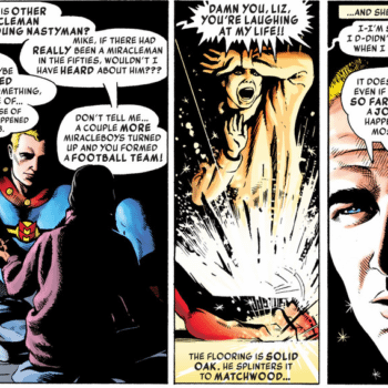 'Damn You Liz, You're Laughing at Our Lives' – Neil Gaiman Takes Us From Captain Marvel to Miracleman