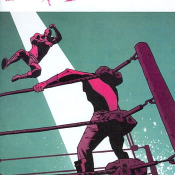 Joe Keatinge And Nick Barbers Ringside Ends With Issue #15 In December