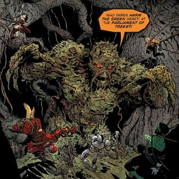 What Is Greg Capullo On To Next After Metal Could Be Swamp Thing