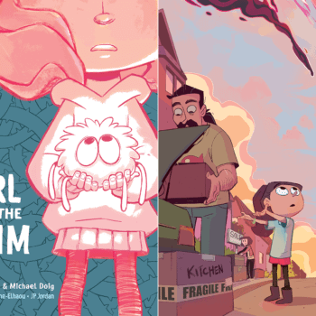 Thought Bubble Debut: The Girl And The Glim By India Swift And Michael Doig