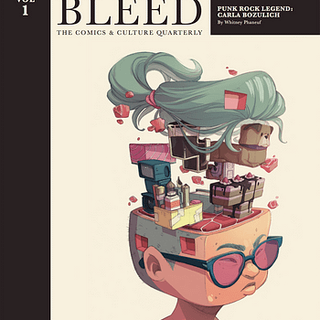 IDW Launches 200 Page Hardcover Quarterly Culture Magazine Full Bleed