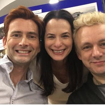 Good Omens Table Read Offers First Look At David Tennant Michael Sheen